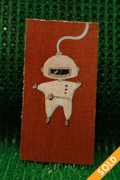 Astronaut Wooden Tags, Astronaut, Hand Painted, Christmas Ornaments, Holiday Decor, Fall, Home Decor, Xmas Ornaments, Autumn