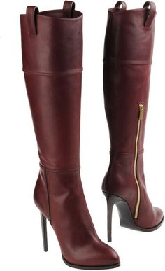 Emilio pucci Women - Footwear - High-heeled boots Emilio pucci on YOOX High Heel Boots, Heeled Boots, Bootie Boots, High Heels, Cute Shoes, Me Too Shoes, Trendy Shoes, Casual Shoes, Sexy Stiefel