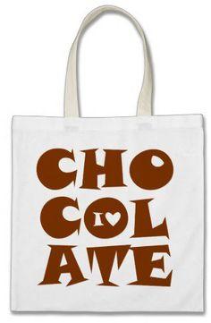 #Zazzle                   #love                     #Love #Chocolate #from #Zazzle.com                  I Love Chocolate Bag from Zazzle.com                                          http://www.seapai.com/product.aspx?PID=1358680