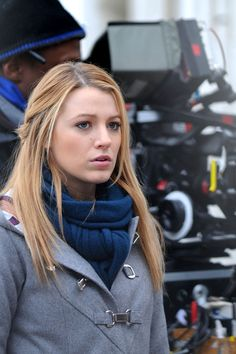 """Blake Lively Photos: """"Gossip Girl"""" Films at the Museum of the City of New York"""