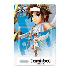Nintendo amiibo(アミーボ) 大乱闘スマッシュブラザーズシリーズ ピット [Wii U/3DS/3DSLL ゲーム連動キャラクターフィギュア]