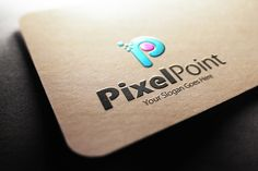 Check out Pixel Point P Letter Logo by samedia on Creative Market