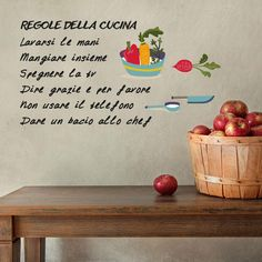 astro sanha: stickers | shops and stickers - Wall Stickers Cucina