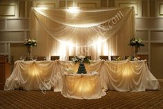 Wedding Backdrops And Decorations wow I would love this