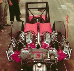 Vintage Drag Racing - Dragster - Tommy Ivo's Twin Buick Dragster