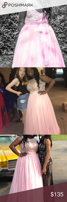 selling my prom dress only worn the dress once. under the dress i worn an can-can skirt. was an 3xl but altered to my likeness to an 1xl around the shoulder and stomach areas. Dresses Prom