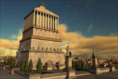 Mausoleum at Halicarnassus, Turkey (artist's rendering)