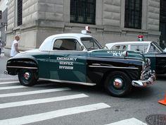 NYC - Vintage Police Car Show by christiNYCa, via Flickr