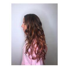 Rose Gold. Pink Hair. Flecks. Long Hair. Curly. Rose Gold Hair, Pink Hair, Curly, Long Hair Styles, Beauty, Rosa Hair, Long Hairstyle, Long Haircuts, Long Hair Cuts