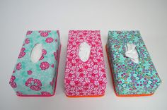 Kleenex box cover. Link to tutorial. thanks so xox