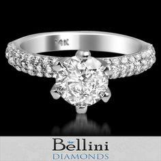 0 85 Ct Round Cut Solitare Certified Diamond Engagement Ring 14k White Gold   eBay