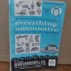Automotive Warshawsky Catalog