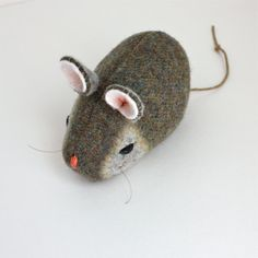 Pocket Mouse  Atlantic Green by Marjji on Etsy