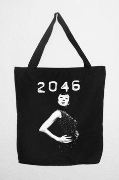 TOTE BAG 2046 Wong Kar Wai Algodón loneta. Muy por RetroBCN en Etsy