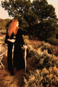 """The word hedgewitch comes from the Saxon word haegtessa meaning 'hedge-rider'. The hedge in hedge witchery is not a fence of shrubs and wildlife, but instead represents the border between our material world and the otherworld – the unknown. In trance-work (also called journey-work, journeying or just """"travelling"""") the hedgewitch crosses this border in order to contact spirits on the other side to learn from them and bring back knowledge to the material world."""