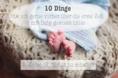 10 Dinge über die erste Zeit mit Baby - Es ist okay, nichts zu schaffen