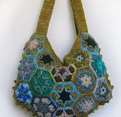 Beautiful Purse from Moxy Crochet!