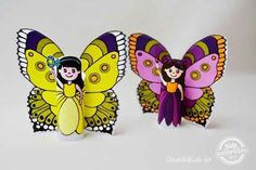 Toilet Paper Roll Fairies | 25 Toilet Paper Roll Crafts