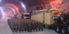 Iran Shows Off Its Ballistic Missile Caves In Rare State TV Footage