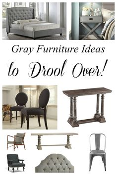 Gray is the new neutral for furniture. It's right on trend and is great for hiding stains and dirt if you have pets and kids! Gray furniture is a gorgeous backdrop to colorful decor accents and textiles. #spon