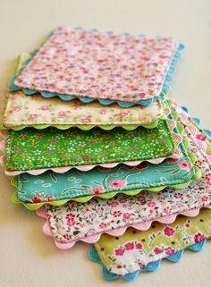 Aprenda a fazer um lindo porta copo em patchwork