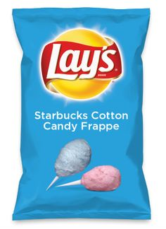 Wouldn't Starbucks Cotton Candy Frappe be yummy as a chip? Lay's Do Us A Flavor is back, and the search is on for the yummiest flavor idea. Create a flavor, choose a chip and you could win $1 million! https://www.dousaflavor.com See Rules.please votee!!!