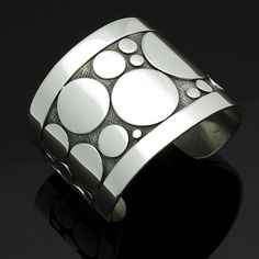 Frank Patania, sterling silver dots cuff bracelet