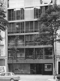 Immeuble, avenue de La Bourdonnais, Paris VIIe - Oliver Vaudou – Reymond Luthi