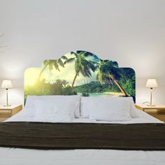 Tropical Headboards Stickers.
