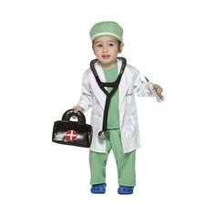 Image Detail for - Baby Doctor Costume - Doctor Baby Halloween Costumes  sc 1 st  Pinterest & DIY Childrenu0027s Doctor Costume | Pinterest | Doctor costume Doctor ...