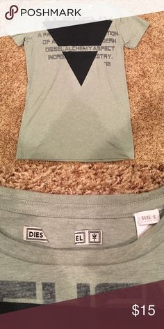 Diesel T-Shirt *NEVER WORN* Diesel green small t-shirt Diesel Shirts Tees - Short Sleeve