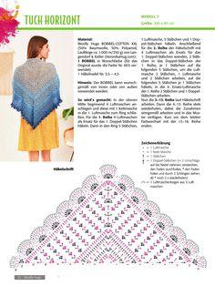 Crochet Scarf Diagram, Crochet Chart, Free Crochet, Knit Crochet, Crochet Scarves, Crochet Clothes, Crochet Hooks, Shawl Patterns, Crochet Patterns