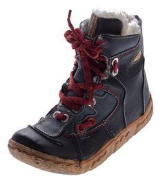 Damen Leder Winter Stiefeletten TMA gefüttert Knöchel Schuhe Schwarz Blau Grün Weiß Rot Knöchelschuhe im used look Stiefel