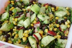 Sunny Simple Life: Black Bean Corn Salad