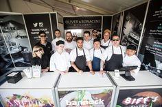 The Oliver & Bonacini Team at #TasteofToronto // #Oliver&Bonacini #Chefs #Team #Kitchen #Festival #Toronto #Summer
