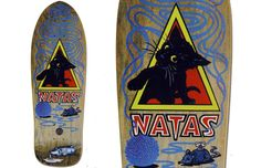 #4. Santa Monica Airlines Natas Kaupas (Out of 25 best skateboard decks from the 80's)