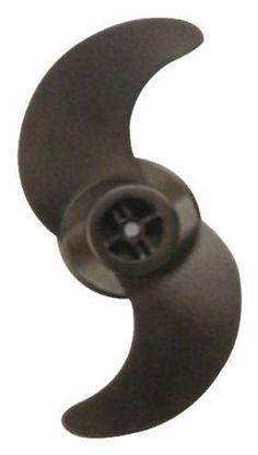 Motorguide Safari Black 2-Blade Weedless Prop (3.5 in Dia)