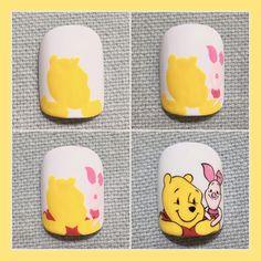 Best Acrylic Nails, Acrylic Nail Designs, Nail Art Designs, Cartoon Nail Designs, Nail Drawing, Korean Nails, Cat Nails, Pretty Nail Designs, Disney Nails