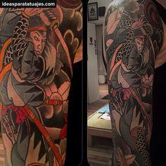 tatuajes japoneses de Guerreros Suikoden 12