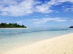 Muri beach, Cook Islands.