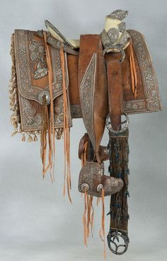 Important 1890s, Charro Saddle by Distinguished Mexican Artisans