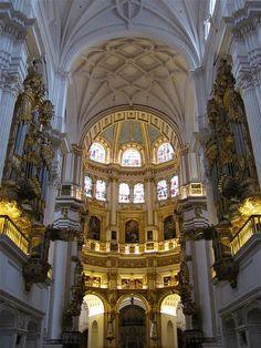 Catedral, Granada, Andalusia,  España