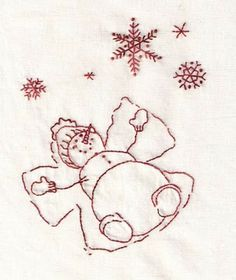 Aunt Reen's Place: Snowflakes in August