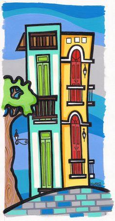 Old San Juan inspired