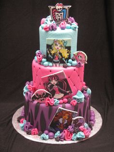10 Cool Monster High Cakes - Pretty My Party
