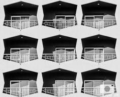 Jugando con la repetición de elementos #fotografía #blackandwhite #architectural