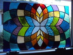 Stained Glass Panel | eBay