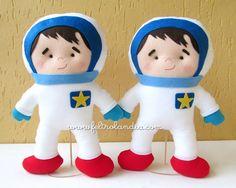 Dois pedidos no tema espaço que seguiram viajem para seus destinos.  1 Kit encomendado pela Letícia Mezzomo, de Pato Branco/PR e dois astro...