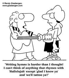 Writing hymns