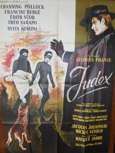 JUDEX-AFFICHE-120X160-THEO-SARAPO-C-POLLOCK-GEORGES-FRANJU-XARRIE